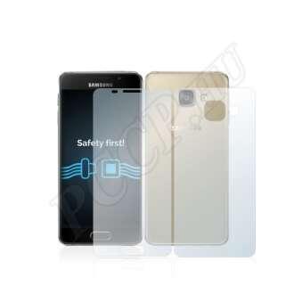 Samsung Galaxy A3 (2016) elő- és hátlap kijelzővédő fólia