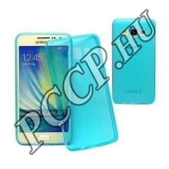 Samsung Galaxy A3 kék ultravékony szilikon hátlap