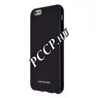 Samsung Galaxy A40 fekete szilikon hátlap