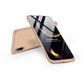 Samsung Galaxy A50 arany három részből álló védőtok