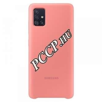 Samsung Galaxy A51 pink szilikon hátlap