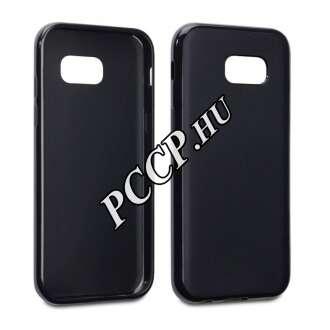 Samsung Galaxy A5 (2017) fekete vékony szilikon hátlap