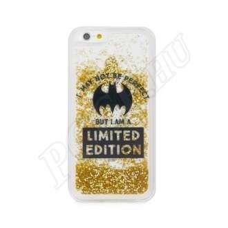 Samsung Galaxy A6 (2018) Batman mintás hátlap arany csillámmal