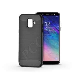 Samsung Galaxy A6 (2018) fekete szilikon hátlap