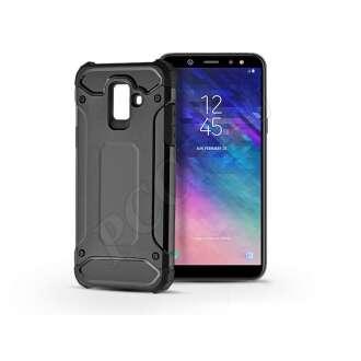 Samsung Galaxy A6 (2018) fekete ütésálló hátlap