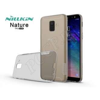 Samsung Galaxy A6 (2018) szürke szilikon hátlap