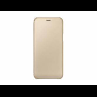 Samsung Galaxy A6 arany flip cover tok