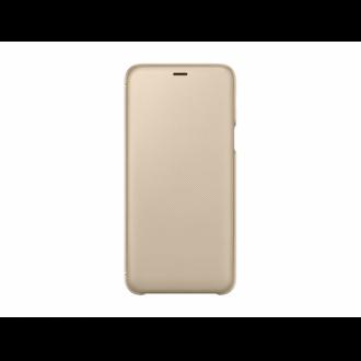 Samsung Galaxy A6 Plus arany flip tok