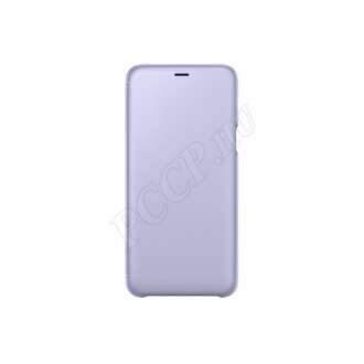 Samsung Galaxy A6 Plus viola flip cover tok
