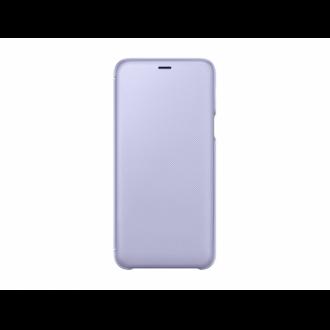 Samsung Galaxy A6 Plus viola flip cover tok