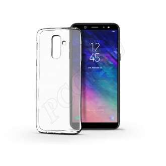 Samsung Galaxy A6 Plus (2018) átlátszó szilikon hátlap