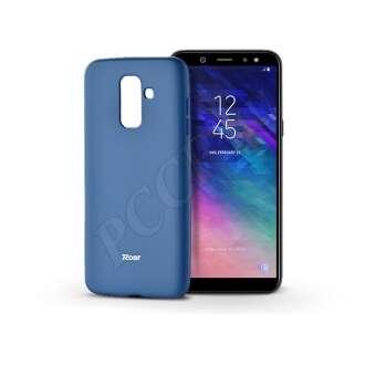 Samsung Galaxy A6 Plus (2018) kék szilikon hátlap
