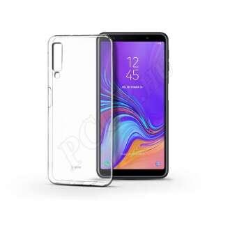 Samsung Galaxy A7 (2018) átlátszó szilikon hátlap