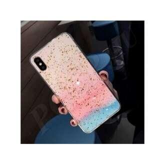 Samsung Galaxy A7 (2018) színátmenetes márványos szilikon hátlap