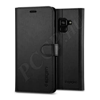 Samsung Galaxy A8 (2018) fekete flip tok