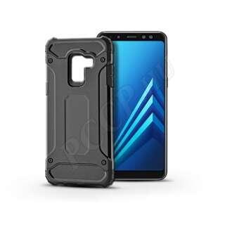 Samsung Galaxy A8 (2018) fekete ütésálló hátlap