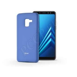 Samsung Galaxy A8 (2018) kék szilikon hátlap