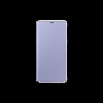 Samsung Galaxy A8 (2018) lila neon flip cover tok
