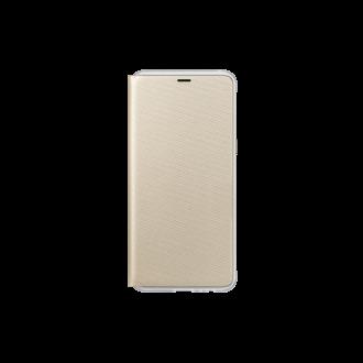 Samsung Galaxy A8 (A530) arany neon flip cover tok