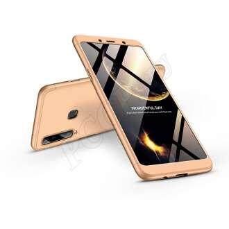 Samsung Galaxy A9 (2018) arany három részből álló védőtok