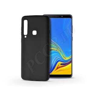 Samsung Galaxy A9 (2018) fekete szilikon hátlap