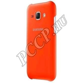 Samsung Galaxy J1 narancs hátlap