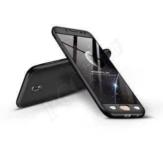 Samsung Galaxy J3 (2017) fekete három részből álló védőtok