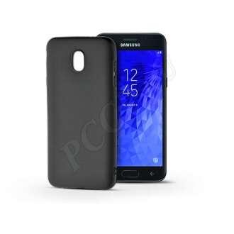 Samsung Galaxy J3 (2018) fekete szilikon hátlap