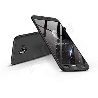 Samsung Galaxy J4 (2018) fekete három részből álló védőtok