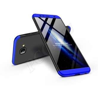 Samsung Galaxy J4 Plus fekete/kék három részből álló védőtok