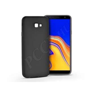 Samsung Galaxy J4 Plus fekete szilikon hátlap