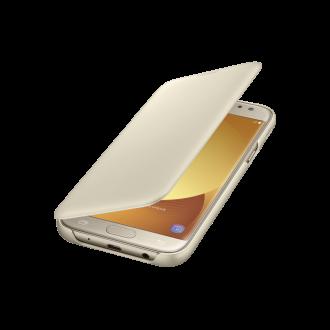 Samsung Galaxy J5 (2017) arany book cover tok