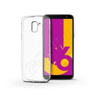 Samsung Galaxy J6 (2018) átlátszó szilikon hátlap