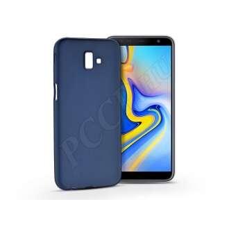 Samsung Galaxy J6 Pluskék szilikon hátlap
