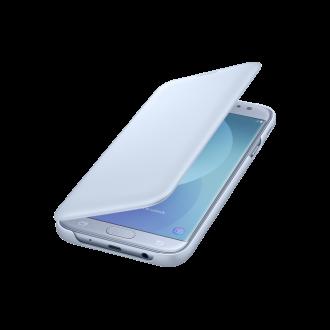 Samsung Galaxy J7 (2017) kék flip tok