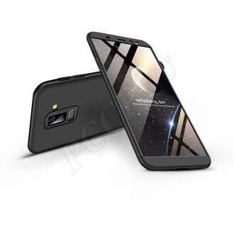 Samsung Galaxy J8 fekete három részből álló védőtok