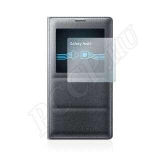Samsung Galaxy Note 4 view cover tokhoz kijelzővédő fólia