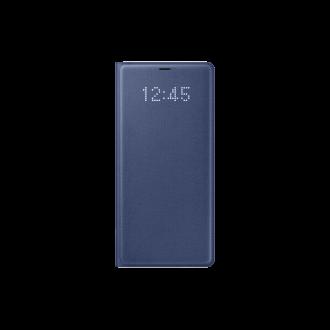 Samsung Galaxy Note 8 kék led cover tok