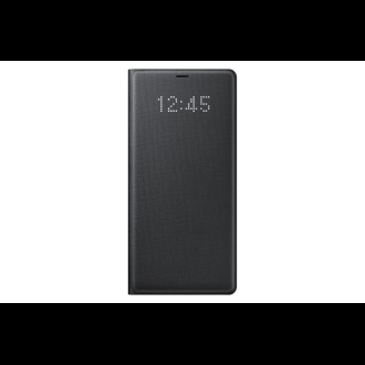 Samsung Galaxy Note 8 fekete ledes cover tok
