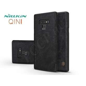 Samsung Galaxy Note 9fekete oldalra nyíló flip tok