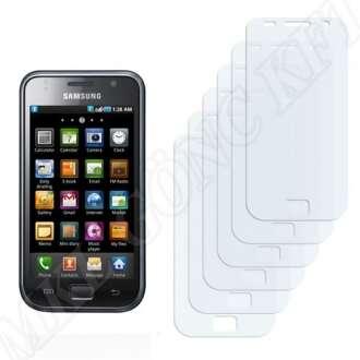 Samsung Galaxy S GT-I9000 kijelzővédő fólia