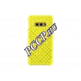Samsung Galaxy S10 E fehér/sárga cover tok