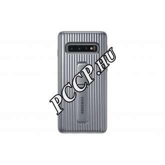 Samsung Galaxy S10 ezüst cover tok