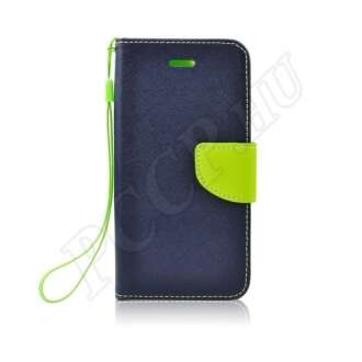 Samsung Galaxy S10 kék-lime flip tok