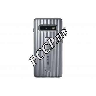 Samsung Galaxy S10 Plus ezüst cover tok