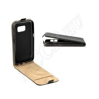Samsung Galaxy S10 Plus fekete flip tok