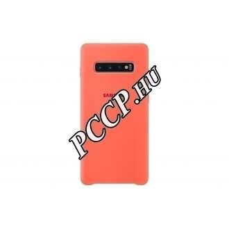 Samsung Galaxy S10 Plus pink szilikon hátlap