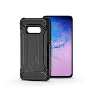 Samsung Galaxy S10E fekete ütésálló hátlap