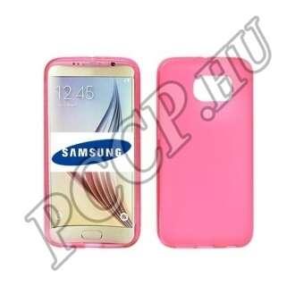 Samsung Galaxy S5 pink vékony szilikon hátlap