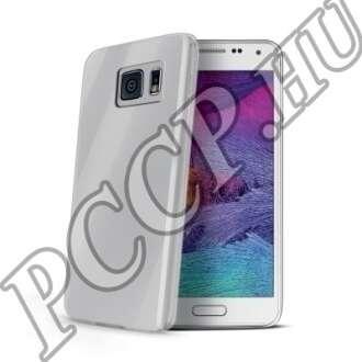 Samsung Galaxy S6 átlátszó vékony szilikon hátlap